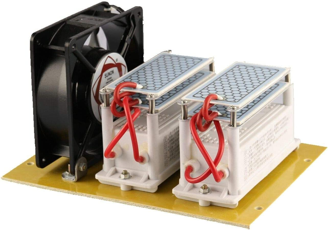 JIAN YA NA 220V 20G 20000mg / h Generador de Ozono Purificador de Aire de Cerámica Generador de Ozono Ozonizador
