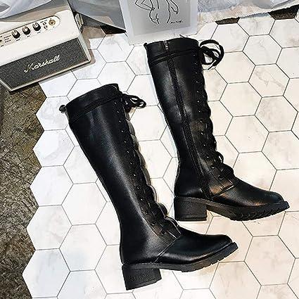 GBRALX Stivali Caldi Elasticizzati Da Donna Stivali Tacco