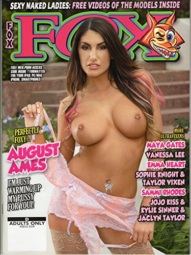 FOX #233 2017 AUGUST AMES SEALED W/XXX DVD
