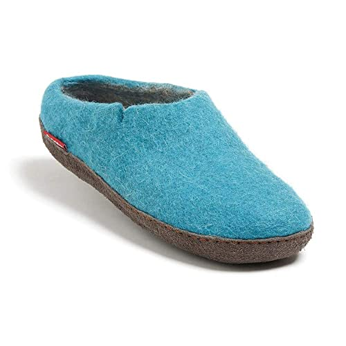 e6c15246d1eac betterfelt Felted Wool Slippers for Women and Men - Hide or Rubber Sole -  Fairtrade Classic Slipper