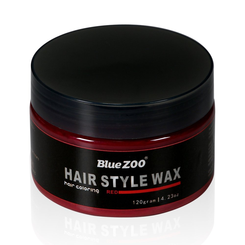 BlueZOO 120g Disposable Temporary Hair Color Pomade Unisex DIY Natural Hairstyle Wax Mud Dye Cream,Easy to Washable by Bluezoo (Image #2)