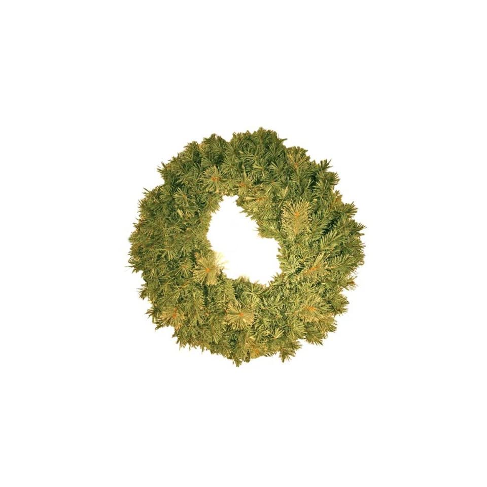 Good Tidings CR 406 24 Artificial Crystal Bay Pine Christmas Wreath 24 Inches Wide