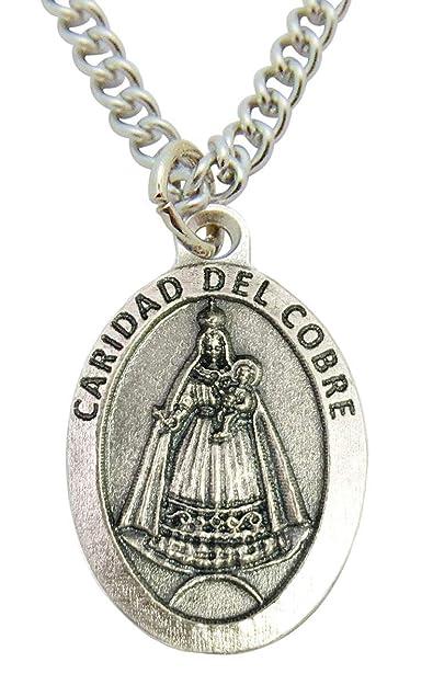 Caridad Del Cobre (Or Lady of Charity Medal) 3/4