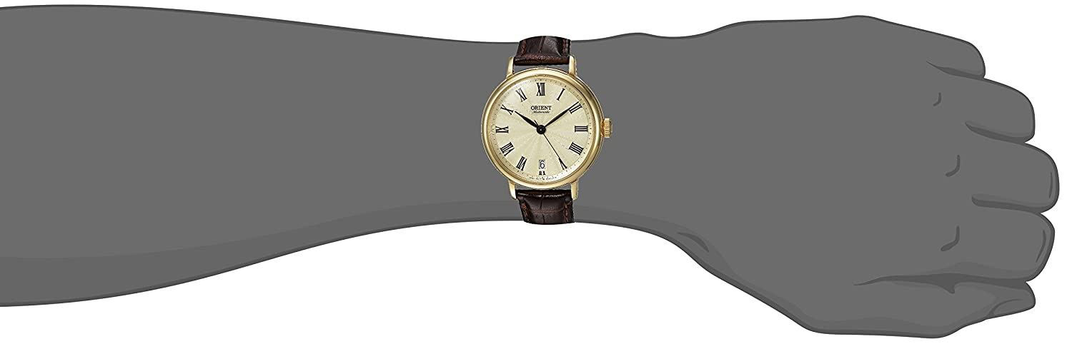 Orient Unisex FER2K003C0 SoMa Analog Display Japanese Automatic Brown Watch