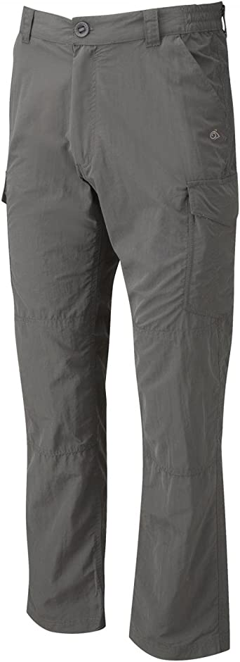 Craghoppers NosiLife Terrigal Trousers Boys black pepper Children size 140 9-10Y 2020 Pants