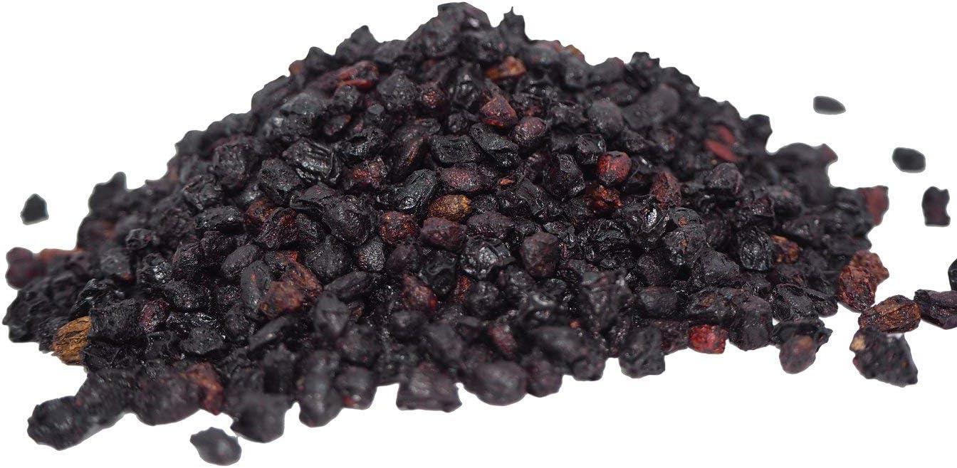Sunburst Superfoods Organic Dried Whole Elderberries 1 Pound