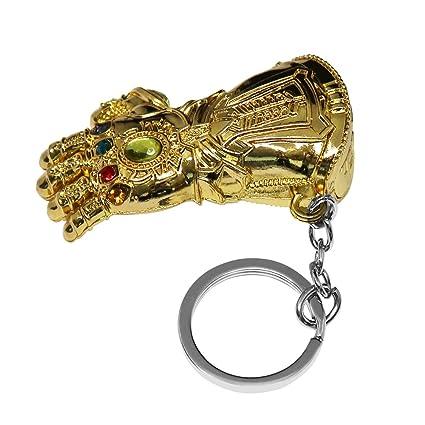 Llavero de los guantes de Thanos Thanos Gloves Keychain ...