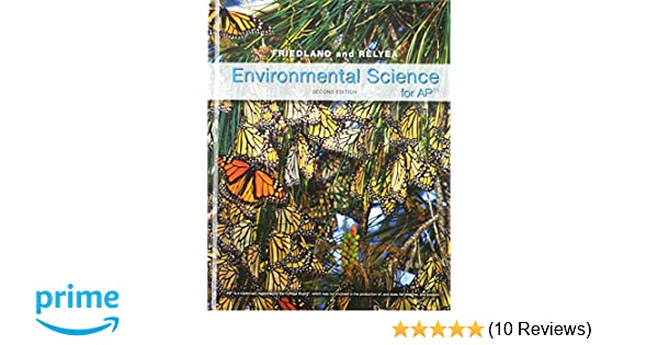 Environmental Science For AP 9781464108686