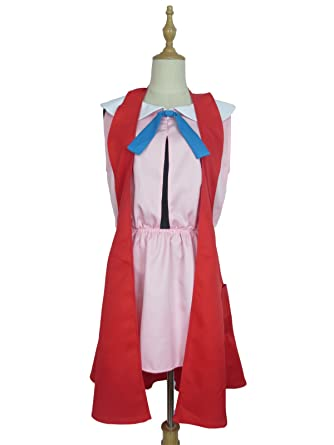 89d47da2cab Amazon.com  Trainer Serena Dress Outfit Clothes Anime Game Manga Cosplay  Costume  Clothing