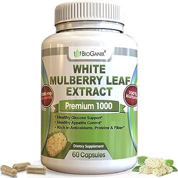 18e0849ae019 Amazon.com  Pure White Mulberry Leaf Extract - Non-GMO
