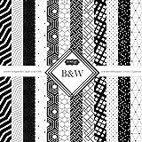Scrapbook Customs Themed Paper Scrapbook Kit, Black
