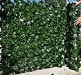 Best Artificial English Ivy Leaf Screening 3m x 1m Privacy Hedging Wall Landscaping Garden Fence **UV Fade Protected** (1)