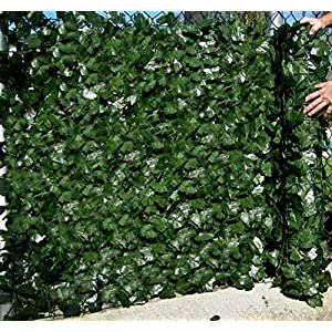 Best Artificial English Ivy Leaf Screening Roll 3m x 1m Privacy Hedging Wall Landscaping Garden Fence UV Fade Protected…