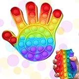 Pop It Fidget Toys Bubble Brinquedo Anti Stress Mão