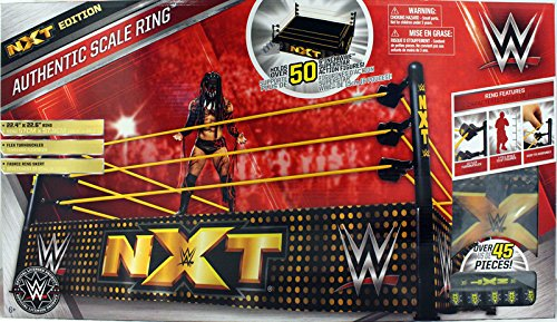 WWE Authentic Scale Ring, NXT Edition by WWE