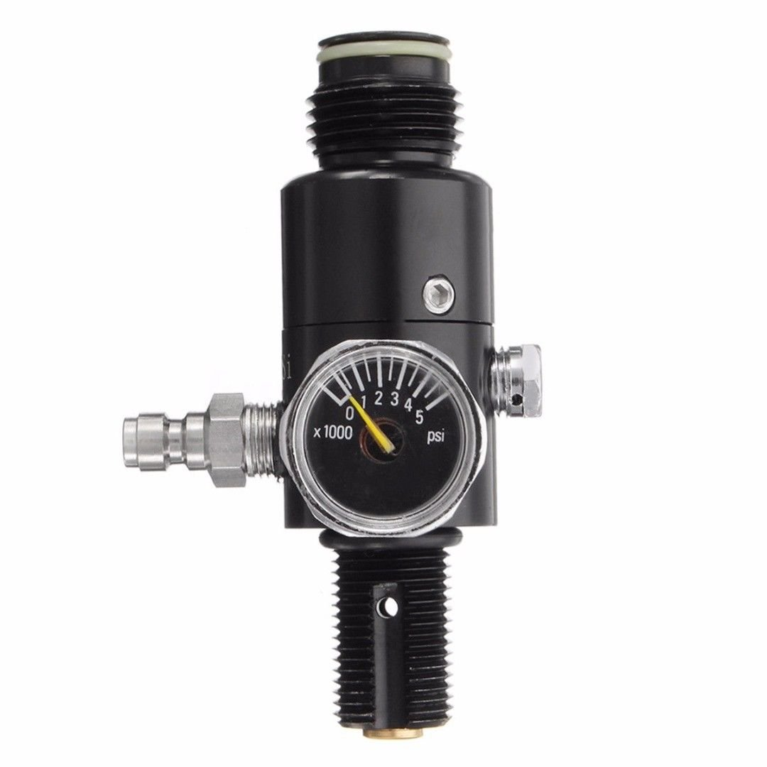 IORMAN Universal 4500PSI Paintball Air Tank Regulator & Valve Guage (800PSI Output) by IORMAN