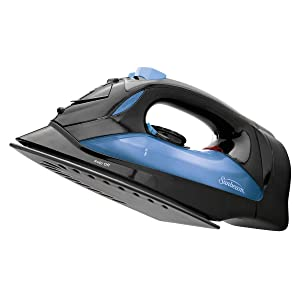 Sunbeam Steam Master 1200 Watt Large Anti-Drip Nonstick Soleplate Steam Iron with Variable Steam Control