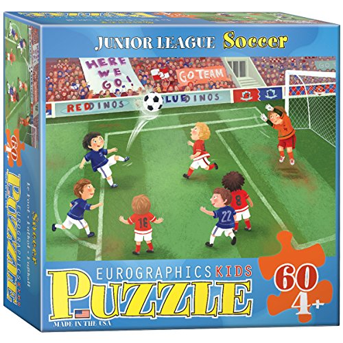 fan products of EuroGraphics Soccer Junior League 60 Piece Puzzle (Small Box)