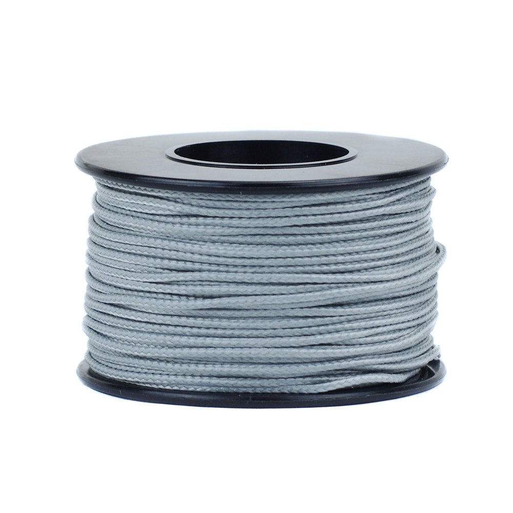 2 or 5 Piece Pack Available in 28 Color Varieties and 1 Micro Cord 125 Foot Spool of 1.18 Millimeter 100 Pound Minimum Break Strength Paracord