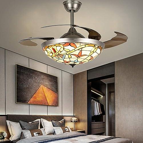 Fandian 42″ Tiffany Ceiling Fan - a good cheap modern ceiling fan