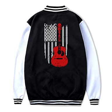 Amazon.com: Guitar USA Bandera Teenage Casual béisbol ...