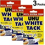 White Tack Adhesive X 3