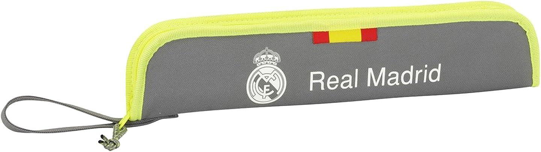 Real Madrid - Portaflautas, Grey (2º Equipacion 2015/2016) (SAFTA 811554284): Amazon.es: Ropa y accesorios