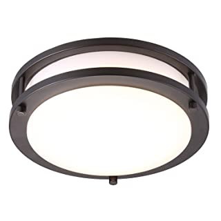 Cloudy Bay Oil Rubbed Bronze Mount Ceiling Light