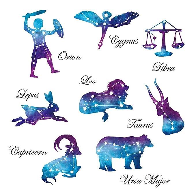 SOSO Tatuajes de pared Iconos de la constelación Pegatinas de ...