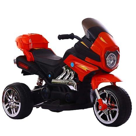 Ayy Motocicleta eléctrica de Tres Ruedas de los niños con el Coche de Juguete eléctrico del