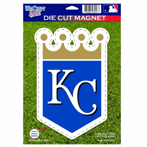 MLB Kansas City Royals Die Cut Logo Magnet