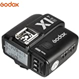 Godox X1-T-N TTL Wireless Flash Trigger Transmitter for Nikon Cameras (Black)