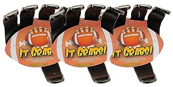 It Grabs, soporte para balones de rugby - hand claw - Negro - 3 ...