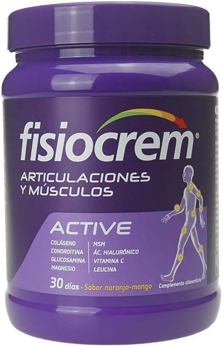 Fisiocrem Active Recuperación Muscular Con Leucina Polvo Para 30 Dias Amazon Es Salud Y Cuidado Personal