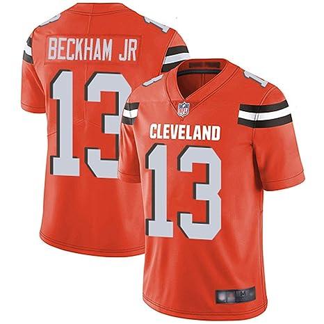 size 40 70230 0bd9b VF LSG Men's Cleveland Browns Odell Beckham Jr 13# Limited Stitch Jersey  (Orange, M)