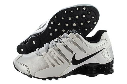 Nike - Shox Current Donna, Bianco (Silver/White), 38 EU ...
