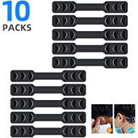 Mask Strap Extenders, anti-tight ear protector decompression holder hook hook-shaped ear strap accessories ear clip…