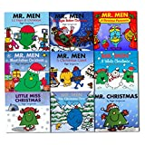Mr. Men and Little Miss Christmas Collection 9 Books Set