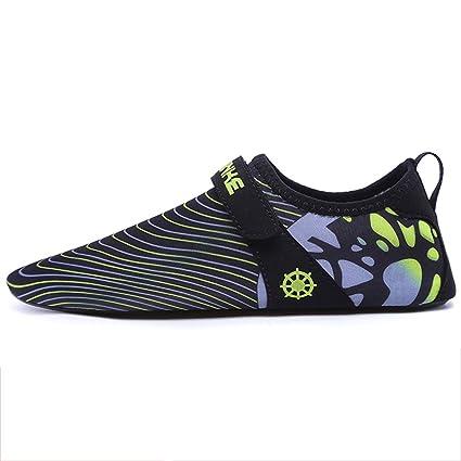 Zapatos De Natación Malla De Tela + Goma Antideslizante Calcetines De Buceo Zapatos De Arrecife De