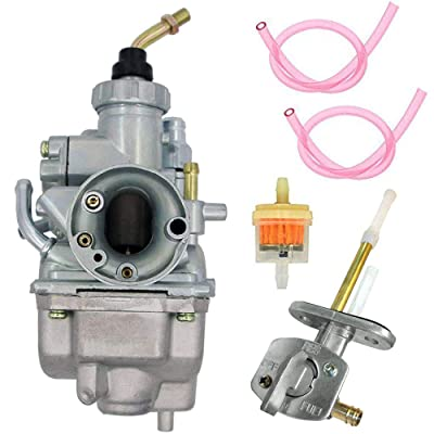 TTR125 Carburetor + Fuel Switch Valve Petcock for Yamaha TTR125 TTR-125 Carb Carburetor 2000-2007 Yamaha Motorcycle TTR125LE TTR125 TTR125E TTR125L by LIYYOO: Automotive