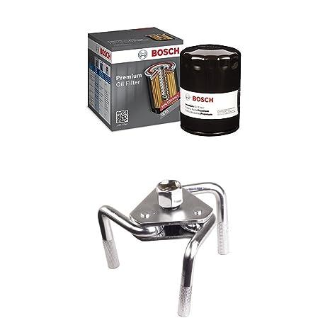 Amazon.com: Filtro de aceite Bosch 3312Premium filtech ...
