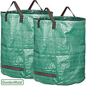 sacs jardinage 500l gardenmate 174 2x sac de d 233 chets de jardin 500l sacs ramassage feuilles mortes grande capacit 233