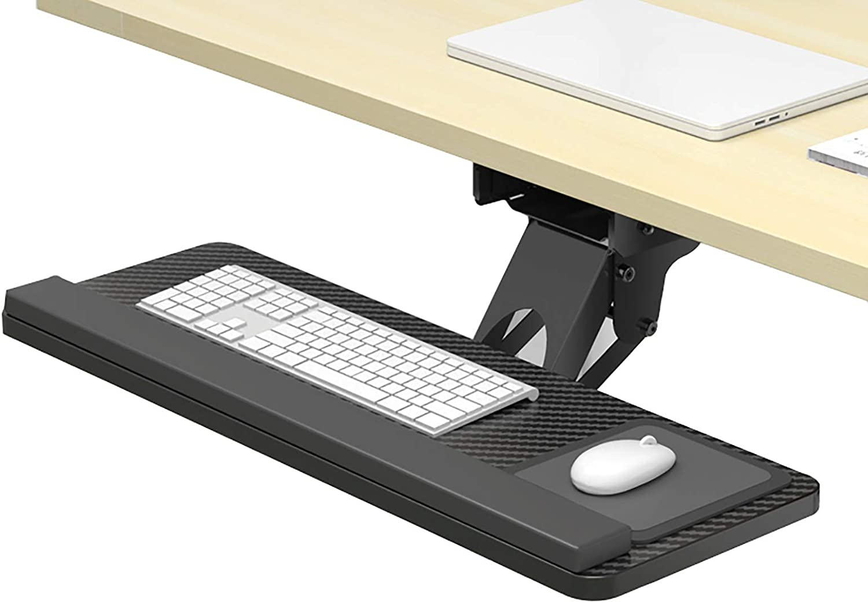Bandeja del teclado Escritorio Teclado Bandeja, Elevación Y ...
