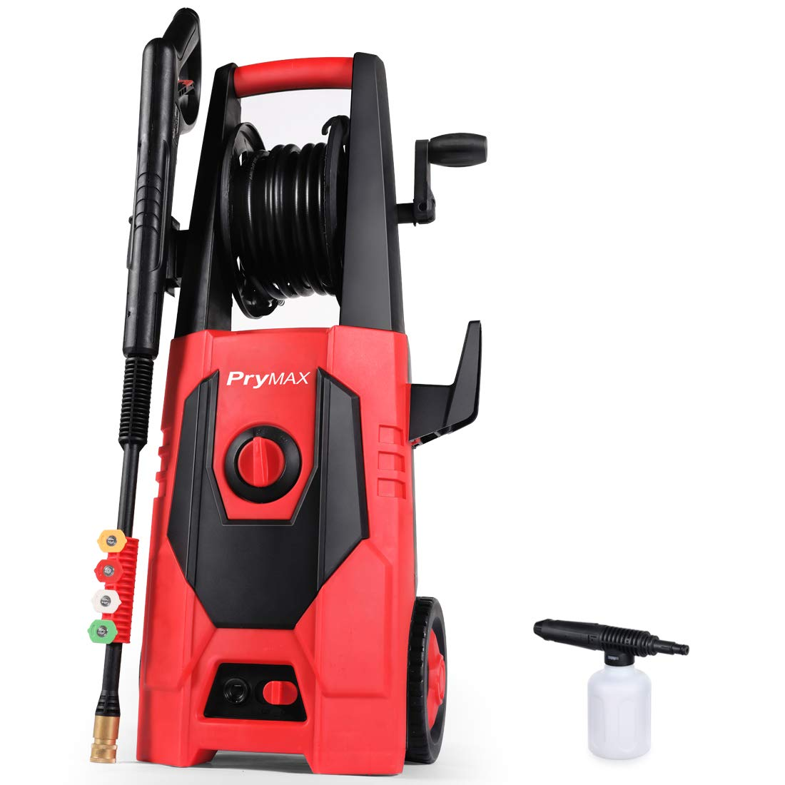 PRYMAX Pressure Washer Electric Pressure Washer with Hose Reel