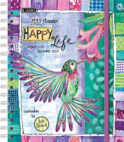 LANG Happy Life 2019 Deluxe Planner (19991038102)
