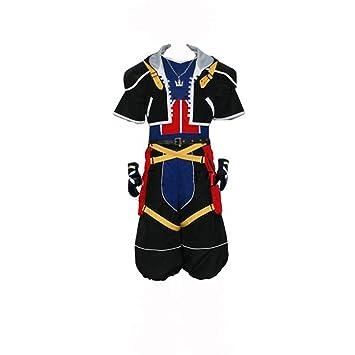 Kingdom Hearts 3 Sora Cosplay Costume Jacket Men Outfit