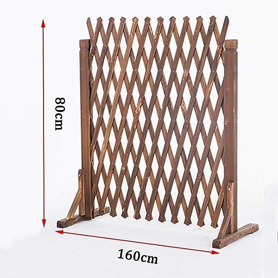 Cerca Plegable interior y exterior de puerta de seguridad separación portátil barrera de seguridad for mascotas de pie, multifuncional cerca de madera retráctil, pequeña valla retráctil valla valla al: Amazon.es: Hogar