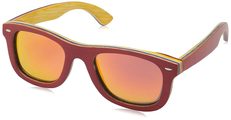Green Earth Wood Malibu Sunglasses W//Polarized Lenses