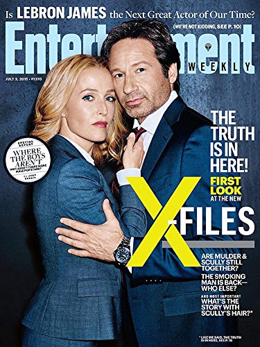 Entertainment Weekly Magazine (July 3, 2015) X-Files for sale  Delivered anywhere in USA