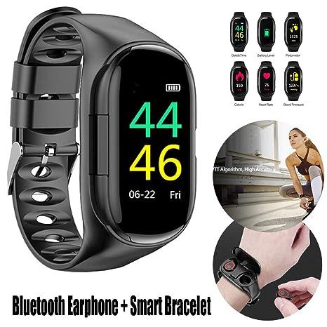 Amazon.com: yunbox299 Smart Watch Bracelet + Bluetooth ...